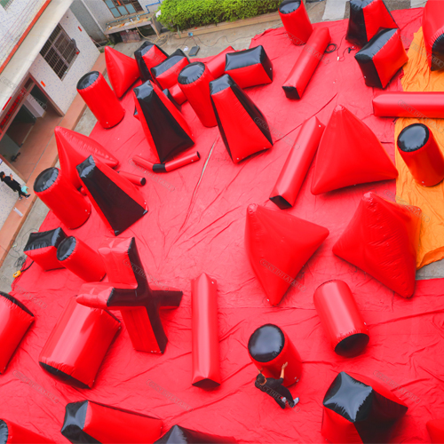 Paintball Inflatable Bunkers
