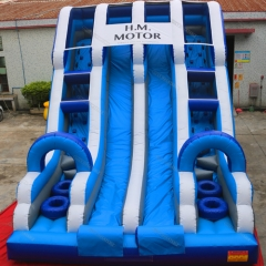 Inflatable Giant Dry Slide