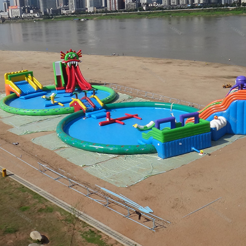 Giant Inflatable Amusement Water Park