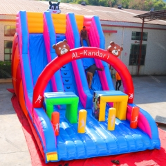 Party Inflatable Slide Commercial Bouncer Slide