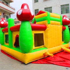 Outdoor Bounce House Jumping Castle With Slide