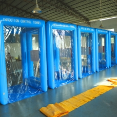 Inflatable Sanitizing Tent