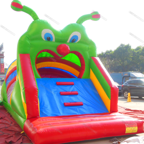 Caterpillar Obstacle Course Inflatable