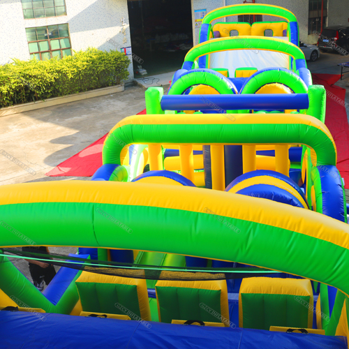 Fashionable Outdoor Inflatable Obstacle Course Equipment