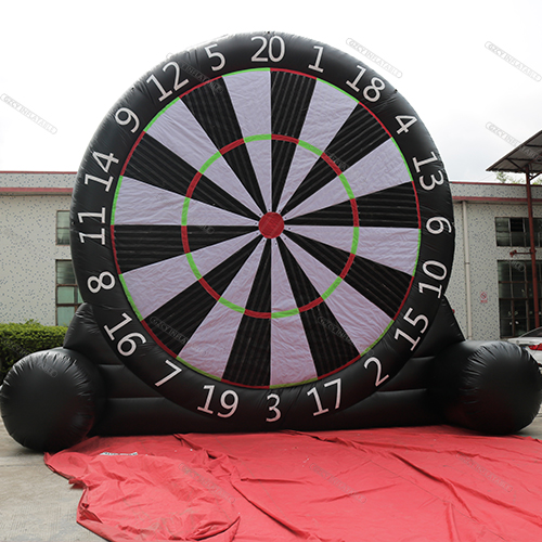 Inflatable ball dart shooting game
