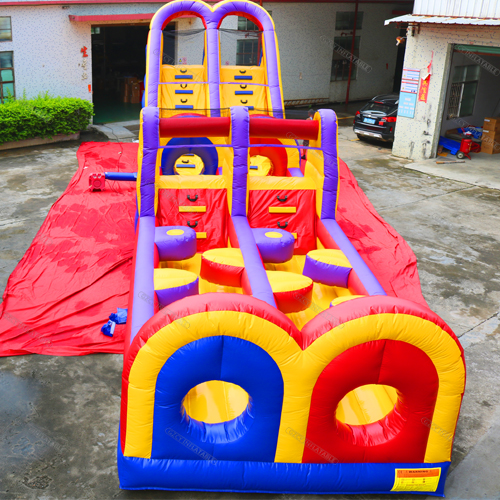 New inflatable obstacle course game