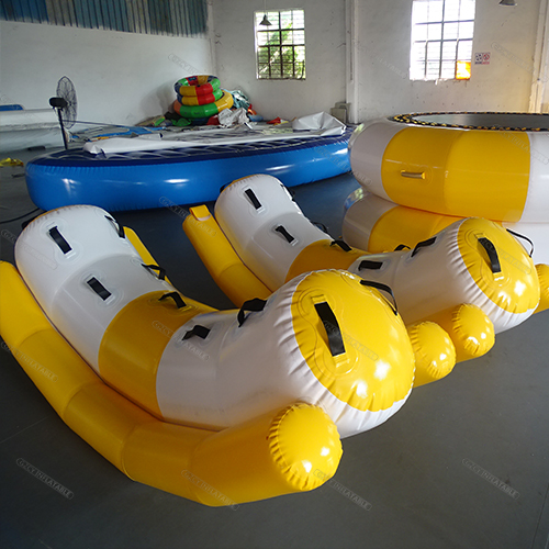 Inflatable seesaw rocker