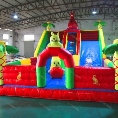 Slide Inflatable Playground Fun City