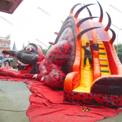 Dinosaur Large Inflatable Slide