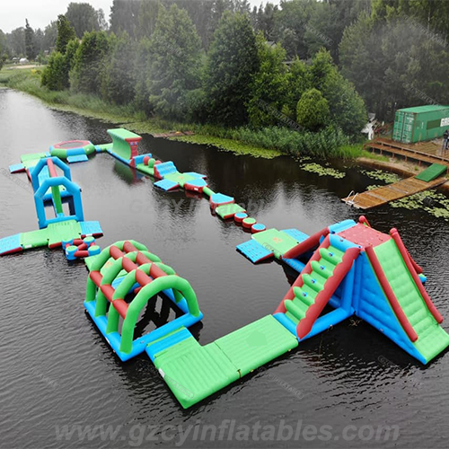 Floating Inflatable Water Park Game