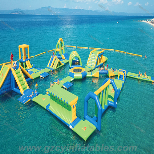 Greece Inflatable Floating Water Park