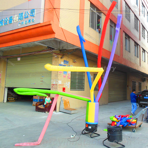 Best-sale event use inflatable sky dancer tube