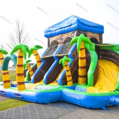 Pirate House Water Slide