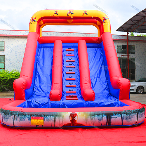 Inflatable Spiderman Water Slide