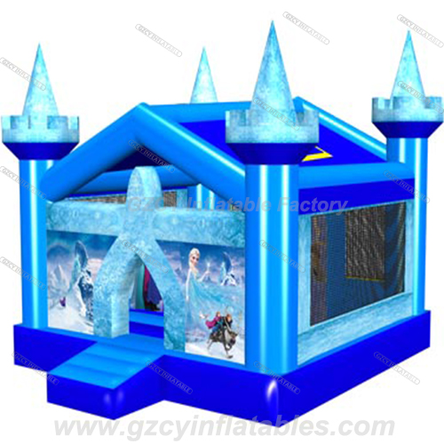 Newest Frozen Inflatable Bouncer