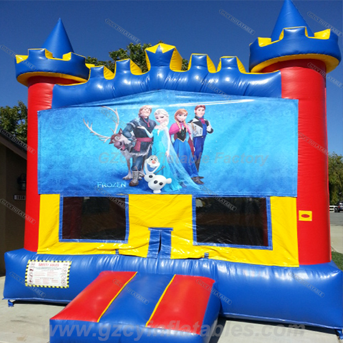 Commercial Frozen inflatable bouncer house