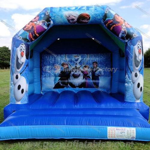 Commercial Frozen inflatable jump bouncer