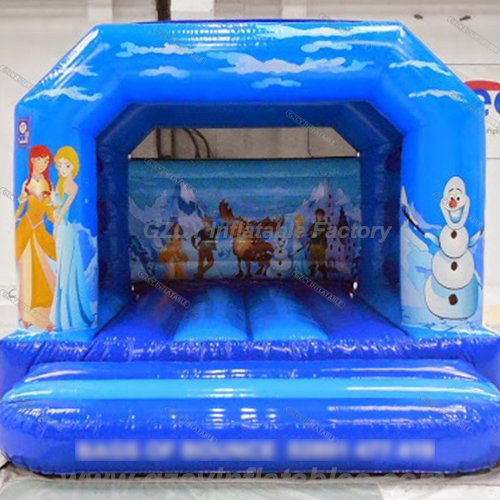 Newest Frozen inflatable bouncer house
