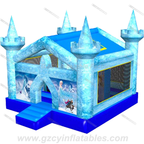 Newest Frozen inflatable bouncer castle