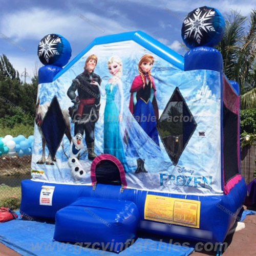 Frozen Inflatable Bouncer