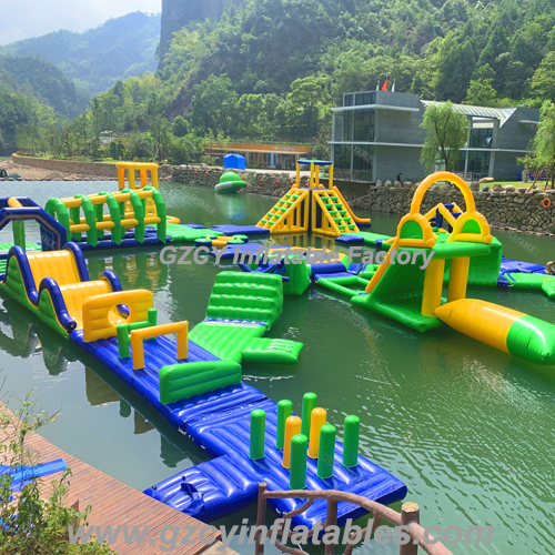 High quality inflatable floating water park for all water place