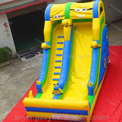 Minion Toboggan Gonflable Inflatable Dry Slide